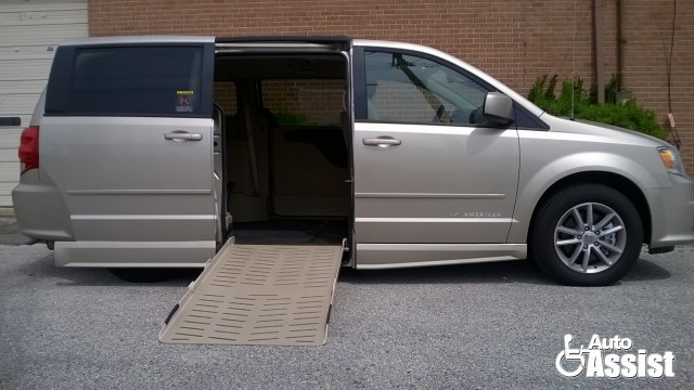 2015 Dodge Grand Caravan VMI Dodge Summit Wheelchair Van For Sale